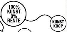 Ga voor 100% kunst tegen 0% rente