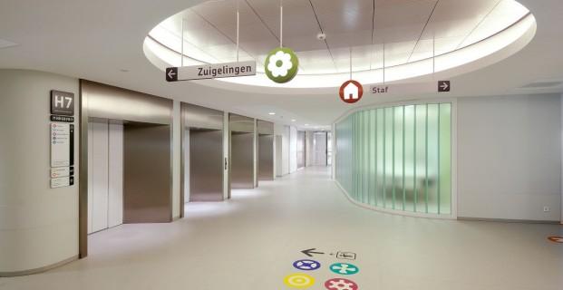 Het nieuwe interieur van het Emma Kinderziekenhuis
